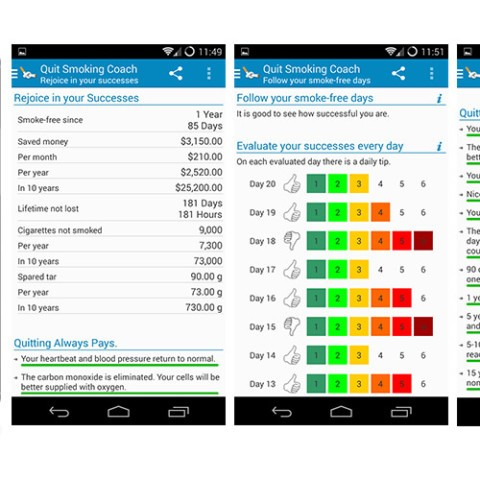 Android App - My 30 Day Quit Smoking Coach